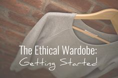 Hi friends! Today we have the wonderful Andrea sharing with us for Slow Fashion Fridays. She has some great tips for starting to build an ethical wardrobe.