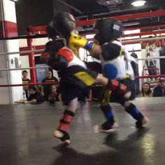 Micro Muay Thai  cc. TAG's 1st Sparring Exhibition www.tagmuaythai.com -- #tagmuaythai #muaythai #muaythaikids #muaythaifighter #kidstagram #martialarts #sports #fitfam #mma #kidsmma #potd #instadaily #mmatraining #sparring #thaiboxing #gear #dc #dulles #dmv #va #sterlingva #nova #fairfaxva #video