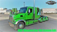 Lego Truck, American Truck Simulator, Westerns, Trucks, Stars, Truck, Sterne, Star