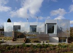 Eco new build house located just north of Bristol. Image by Paul Archer