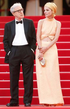 Parker Posey and Woody Allen at the Cannes Film Festival in May.