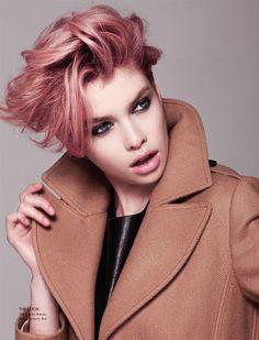 розовые короткие волосы - Поиск в Google