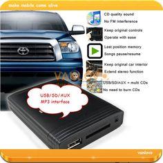 AUX-IN YATOUR Цифровой Музыки Чейнджер USB SD MP3 Интерфейс для TOYOTA Corolla Camry Avensis 4 Бегун Highlander Prius RAV4 Yairs