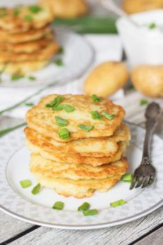 These Polish Potato Pancakes are amazingly delicious and require only few simple ingredients to make!