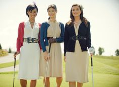 Attire made especially for professional networking on a golf course. Yes, please!