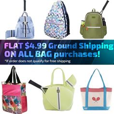 Looking for a brand new tennis bag? Do It Tennis carries the only the latest and best brands and styles on the market today. Tennis Bags, Fashion Bags, Womens Fashion, Junior Fashion, New Bag, Best Brand, Totes, Backpacks, Flats