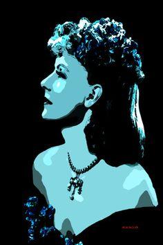 11-POP Art. Greta Garbo III.