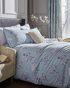 Tiffany Printed Floral Duvet Cover Set