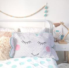 Cloud Pillow Case RRP $7.00 Kmart Homewares Take 2 - Oh So Busy Mum
