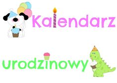Kalendarz urodzinowy dla dzieci do pobrania. Family Guy, Education, School, Fictional Characters, Paper, Onderwijs, Fantasy Characters, Learning, Griffins