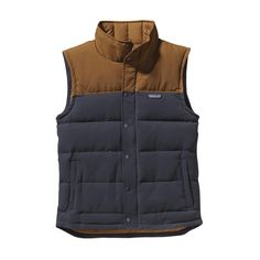 Our Men's Bivy Down Vest is a durable outdoor vest insulated with 600-fill-power 100% Traceable Down. Check it out at Patagonia.com.