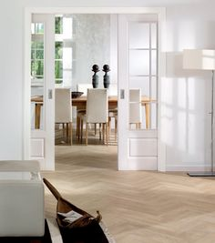 Double Pocket Doors | Pocket Double Glazed Doors - German Door Sets- Internal Door | Luxury ...