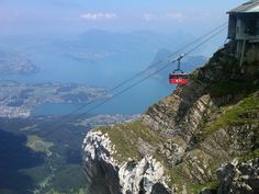 Mt. Pilatus  Lucerne, Switzerland---- this was one of the best parts of our trip in 2011