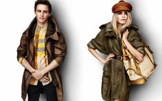 buberry raincoats ad | raffia trimmed parkas and the raffia weave trenches the boring and ...