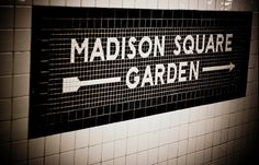 Madison Square Garden.....all I can think is GODZILLA!