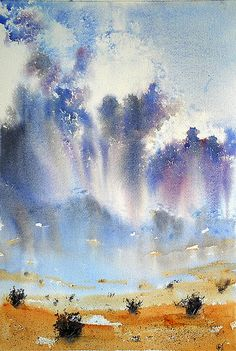 More rain - Dreams on a humid humid day ... by doppler07 - (Watercolor)