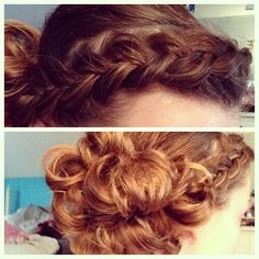 It's just one of those days when I'm so bored I do my hair all day. #hair #apostolic #pentecostal #pentecostalhair