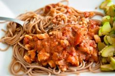 ww Bolognaise poulet chorizo Spaghetti Bolognaise, Sauce Tomate, Chorizo, Lose Weight, Menu, Chicken, Cooking, Ethnic Recipes, Food
