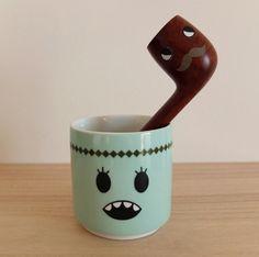 Green mug face with a pipe face killahhhhhhhh