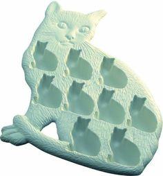 Lekue クラシック猫のアイスキューブトレイ