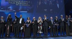 All the winners on the stage at the end of the award ceremony , who has been held at the Grimaldi Forum in Monaco, March 6th, 2016. Photo by Marco Piovanotto