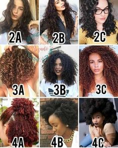 How to know your hair type, hair texture and hair porosity Hell. - How to know your hair type, hair texture and hair porosity Hello my beautiful WP fa - Curly Hair Styles, Curly Hair Tips, Curly Hair Care, Curly Hair Products, 3b Hair, Afro Hair Types, Hairstyles For Curly Hair, 4b Natural Hairstyles, Curly 3c