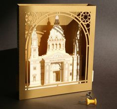 Budapest St. Stephen's Basilica Paper Souvenir / Architecture / Pop up Paper Card/ Hungary / Art / Paper Model / Masterpieces