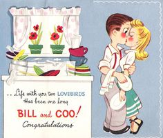 Life with you two lovebirds... #anniversary #cards