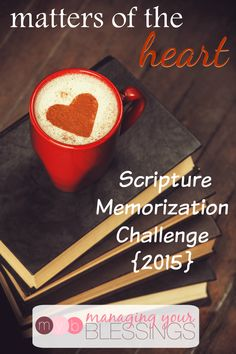 Come join us on our journey in 2015 to flood our hearts, minds, and families with God's Word! :: ManagingYourBlessings.com
