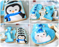 Penguins & Polar Bears Winter ONEderland {Birthday Party} - Giggles Galore