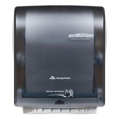 Georgia Pacific Enmotion 59462 Classic Automated Touchless Paper Towel Dispenser, Translucent Smoke #Georgia #Pacific #Enmotion #Classic #Automated #Touchless #Paper #Towel #Dispenser, #Translucent #Smoke