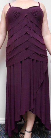 Alex Evenings Women's Draped Tiered Formal Dress Plus Size 16 – Rebekah's Treasures