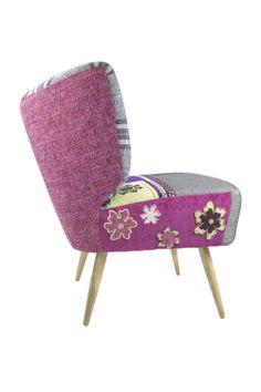 Patchwork chair https://www.facebook.com/lasilla.official