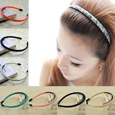 Lady Girl Womens Headpiece Hairdresses Headband Hair Band Accessory Hair Comb in Clothing, Shoes, Accessories, Women's Accessories, Hair Accessories   eBay