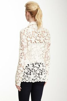 this would be adorable over a dress, but I wouldn't wear it as a shirt....