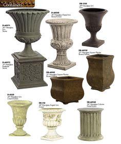 Large Outdoor Planters, Urn Planters, Concrete Planters, Copper House, Pillar Design, Front Elevation Designs, Pedestal, Pot Jardin, Fiberglass Planters