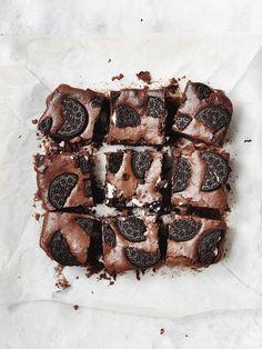 brownies food yummy tumblr oreos