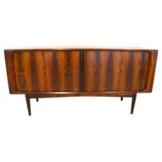 Check out this item at One Kings Lane! Danish Modern Rosewood Credenza