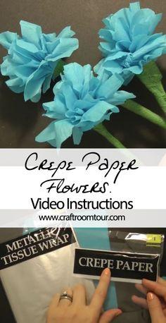 Beginner Crepe Paper Flowers