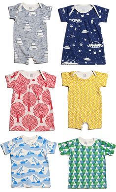 Every time our kiddos wear these patterned clothes, we get a bunch of questions about where they're from. The answer: Winter Water Factory . Baby Outfits, Outfits Niños, Kids Outfits, Batman Outfits, Bebe Love, Stoff Design, Kid Styles, Organic Baby, Organic Cotton