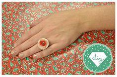 Cómo hacer anillos con botones - IMujer