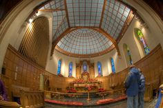 Idaho | St. Michael's Episcopal Cathedral in Boise, ID - Inside view from your Trinity Stores crew.