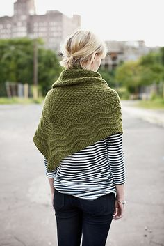 I can't decide if this shawl thing is cute or its just the girl. #knit #ravelry #knittingpattern