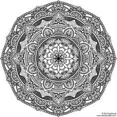 Krita Mandala 17 by WelshPixie.deviantart.com on @DeviantArt