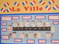 La Ville classroom display photo - Photo gallery - SparkleBox