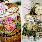 birdcage center Pieces