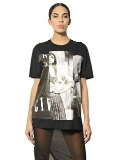 GIVENCHY - PRINTED COTTON JERSEY T-SHIRT