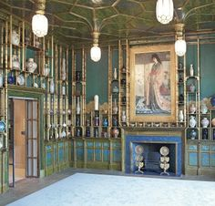 The Peacock Room: Whistler's room anticipates Art Nouveau, but without that style's rote longueurs.