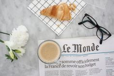 Homevialaura | Petit dejéuner with Nespresso coffee | Parisian breakfast | brunch