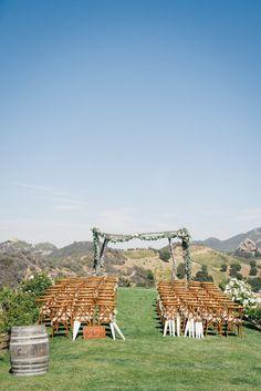 Photography: Jana Williams Photography - jana-williams.com Venue: Saddlerock Ranch - www.malibufamilywines.com/#about   Read More on SMP: http://www.stylemepretty.com/2015/09/28/romantic-malibu-vineyard-wedding/